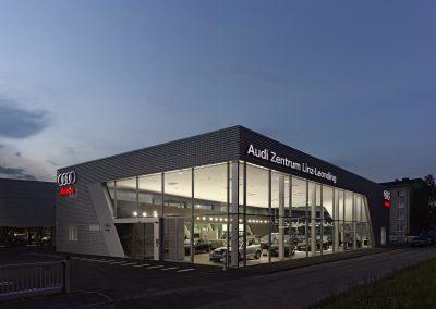 Audi Linz, Showroom